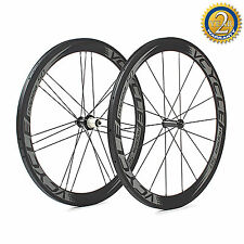 VCYCLE Nopea50 50mm Tubolare Raggiatura Straight-Pull Carbon Set ruote Powerway
