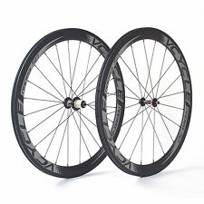 VCYCLE Nopea50 Ultra Leggero Carbon Ruote 50mm Copertoncino 700C Set ruote 1470g