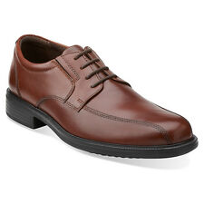 Clarks Men's Bardwell Walk Leather Lace Up Oxford Shoes Brown 26102273