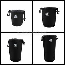 Neoprene DSLR Camera Lens Cover Protector Case for Nikon/Pentax/Canon S M L XL