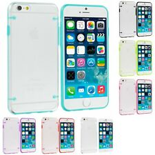For Apple iPhone 6S Plus 5.5 Hybrid Clear Hard TPU Shockproof Skin Case Cover