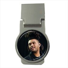 The Weeknd Round Money Clip w/ Optional CZ Crystals