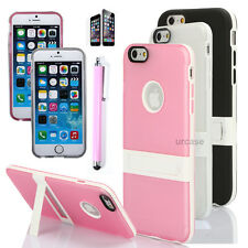 Shockproof Kickstand Slim Protective Hard Cover Case For Apple iPhone 6 6S Plus