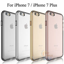 New Soft TPU Back Transparent Bumper Clear Case Cover For Apple iPhone 7 7 Plus