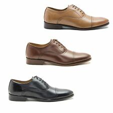 Red Tape STOWE Mens High Quality Leather Lace Toe Cap Smart Office Oxford Shoes