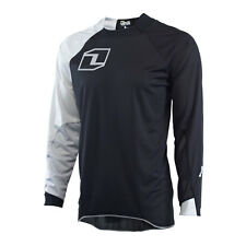 One Industries VAPOR NERO / Grigio Motocross MX MTB BICICLETTA JERSEY