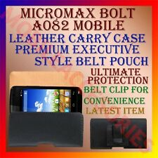 ACM-BELT CASE for MICROMAX BOLT A082 MOBILE LEATHER CARRY POUCH HOLDER COVER NEW