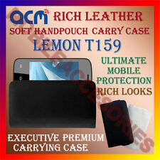 ACM-RICH LEATHER SOFT CASE for LEMON T159 MOBILE HANDPOUCH COVER HOLDER PROTECT