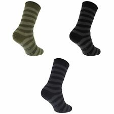 Redtag Mens Striped Extreme Thermal Socks With Grippers (2.45 Tog)