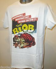 The Blob Cult 50s Horror Retro Movie Poster T Shirt Sci Fi Steve McQueen New 272