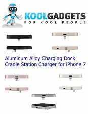 Aluminum Alloy Charging Dock Cradle Station Charger for iPhone 7 in 5 colours