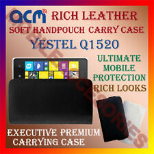 ACM-RICH LEATHER SOFT CASE for YESTEL Q1520 MOBILE HANDPOUCH COVER HOLDER LATEST
