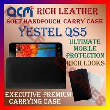 ACM-RICH LEATHER SOFT CASE for YESTEL QS5 MOBILE HANDPOUCH COVER HOLDER PROTECT