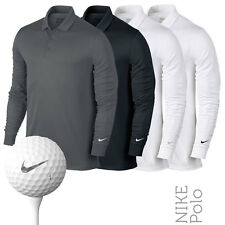Nike NK403 Mens Dri-Fit Victory Lightweight Long Sleeve Polo (3 Cols)