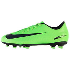 Nike Mercurial X Vortex 3 Ronaldo FG Junior Kids Firm Ground Football boots Lime