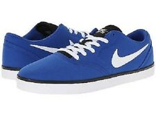 Nike Skate Boarding Check Canvas Royal Blue/ White/ Black Men's Shoes 70526