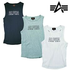 Alpha Industries Tanktop Track Top Stinger Muscle Shirt Fitness Gym  XS bis 3XL