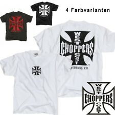 West Coast Choppers Herren T-Shirt Iron/Original Cross Tee - NEUE Kollektion