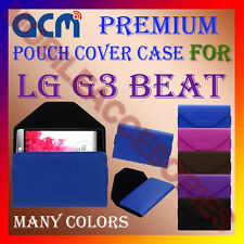 ACM-PREMIUM POUCH LEATHER CARRY CASE for LG G3 BEAT MOBILE COVER HOLDER PROTECT