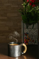 Handmade Coffee Mugs/Cup Made Using Black Stone Pottery -  Natural Raw Material