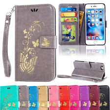 Luxury Leather Wallet Card Flip Stand Case Cover For Apple iPhone 6 6s