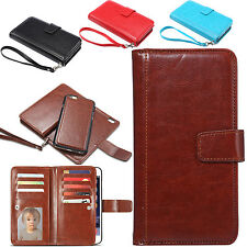 Luxury Magnetic Leather Flip Cover Wallet Stand Case For Apple iPhone