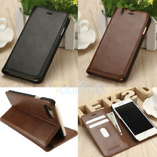 Leather Wallet Card Holder Flip Cover Case For iPhone 7 / 7 Plus Galax