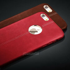 Luxury Ultra-thin Genuine Leather Back Skin Case Cover For iPhone  6 6