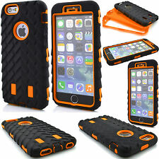 For Apple iPhone 7 Plus 6s case Rugged Protective Hybrid Hard Rubber C