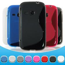 Custodia in Silicone Samsung Galaxy Young S-Style