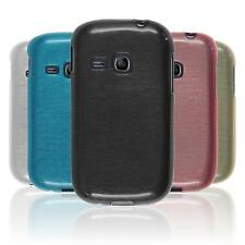 Custodia in Silicone Samsung Galaxy Young brushed