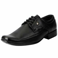 Action Black Men's Derby Shoes