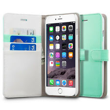 Luxury Leather Wallet Card Holder Flip Case Cover Stand For Apple iPho
