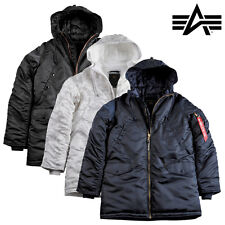 ALPHA INDUSTRIES giacca invernale uomo n3-b PM MA1 PARKA S fino a 3XL NUOVO
