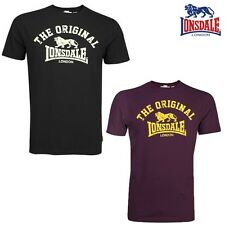 Lonsdale Camiseta Hombre Original Tee Boxing London S M L Xl Xxl 3xl