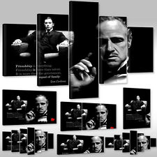 Canvas Picture Wall Tattoo Art Print Der Pate Don Vito Corleone The Godfather