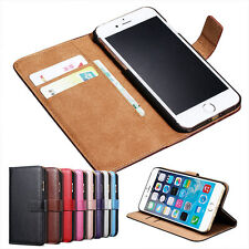 Luxury Magnetic Flip Wallet PU Leather Stand Case Cover For iPhone 6 6