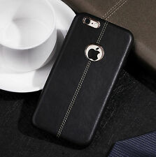 Luxury Ultra-thin Slim Genuine Leather Back Case Cover For iPhone 6 6S