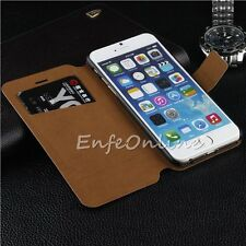 Luxury Magnetic Flip Wallet Stand Leather Case Cover Skin for iPhone 6