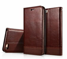 Slim Leather Wallet Card Case Magnetic Flip Cover Stand For Apple iPho