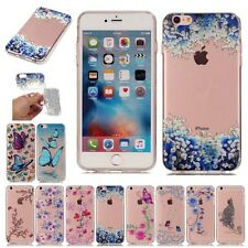 Silicone Rubber Shockproof Clear Soft TPU Cover Case For Apple iPhone6