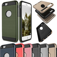 Rugged Armor Shockproof Hybrid Rubber Hard Phone Case Cover For iPhone