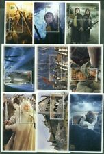 LORD OF THE RINGS: New Zealand MNH 9 Sheelets, Movies, Cinema