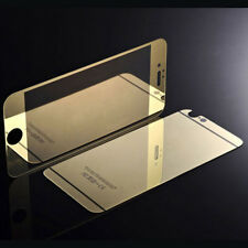 Mirror Tempered Glass Front+Back Screen Protector Film Cover for iphone 5 6+ SE