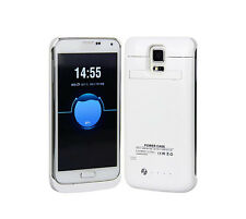 3800mAh Power Bank Backup Battery Charger Case Back Cover For Samsung S5 i9600