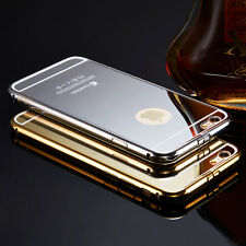 Luxury Aluminum Ultra-thin Mirror Metal Case Cover for iPhone 5/ 5s/ 6/ 6+