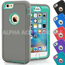"""Protective Hybrid Shockproof Hard Case Cover For Apple iPhone 6 6S 4.7/5.5"""""""