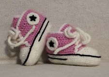 Baby crochet shoes wool/ Baby booties/ Sneakers/ Scarpine neonato uncinetto lana