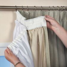 BLACKOUT LINING THERMAL CURTAIN READY MADE 3 PASS LINING CURTAIN TAPE TOP