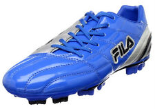 NEW AUTHENTIC MEN'S FILA CALCIO II SOCCER SHOE BLUE/SILVER/BLACK